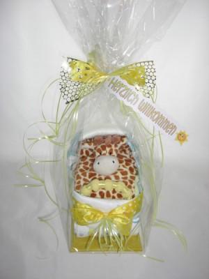 Windelwägeli Deluxe Kuscheltuch Giraffe