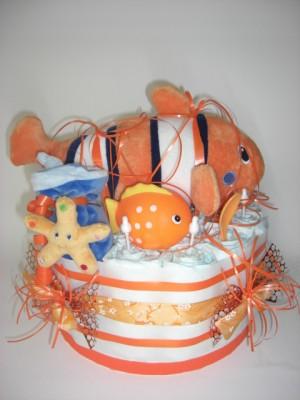 WINDELTORTE Standard orange Clownfisch